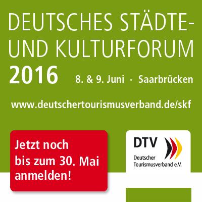 Banner Städte- und Kulturforum des DTV
