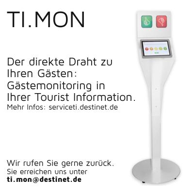 TI.MON Gästemonitoring in Ihrer Tourist Information