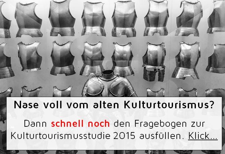 Kulturtourismusstudie 2015, Link zur Befragung