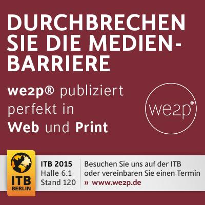 web2p publiziert perfekt in Web und Print