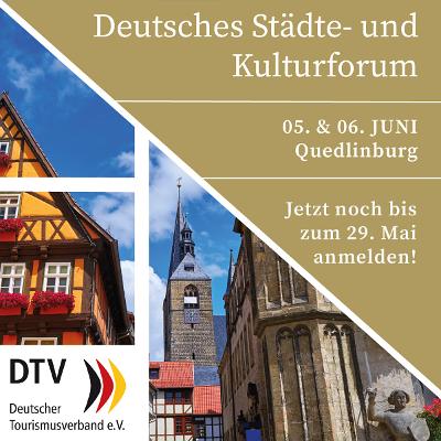 Banner Städte- und Kulturforum DTV