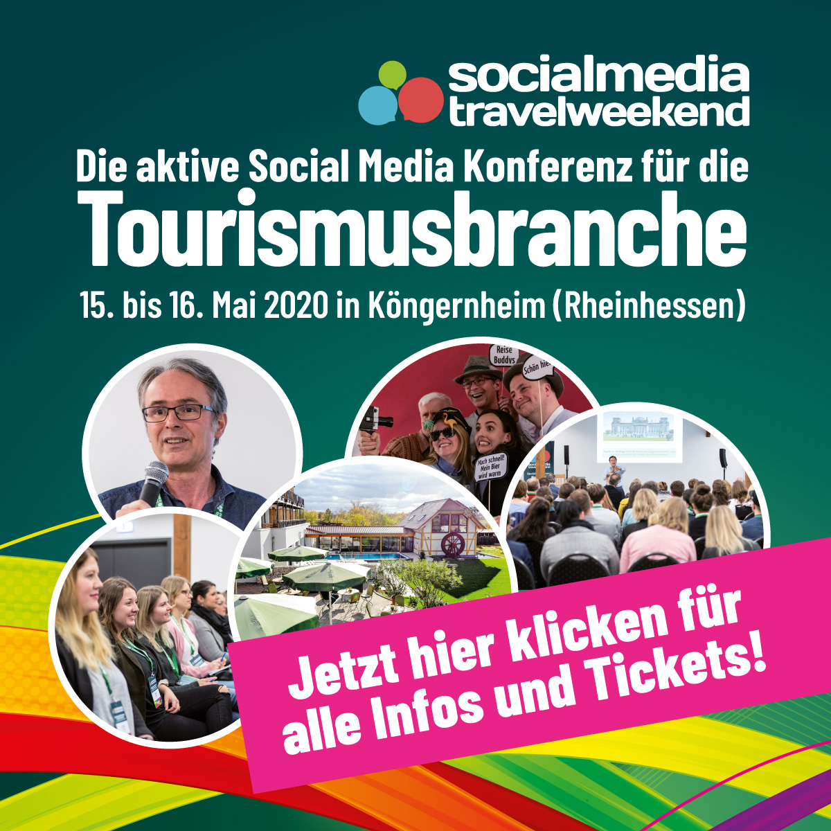 social media travel weekend